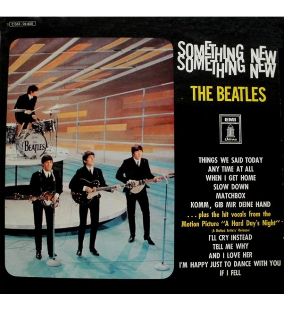 The Beatles - Something New (LP, Album, RE)