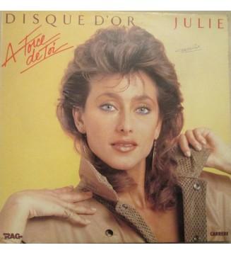 """Julie Pietri - Disque D'Or """"A Force De Toi"""" (LP, Album, Comp) mesvinyles.fr"""