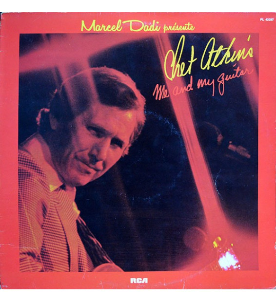 Chet Atkins - Me And My Guitar (LP, Album)