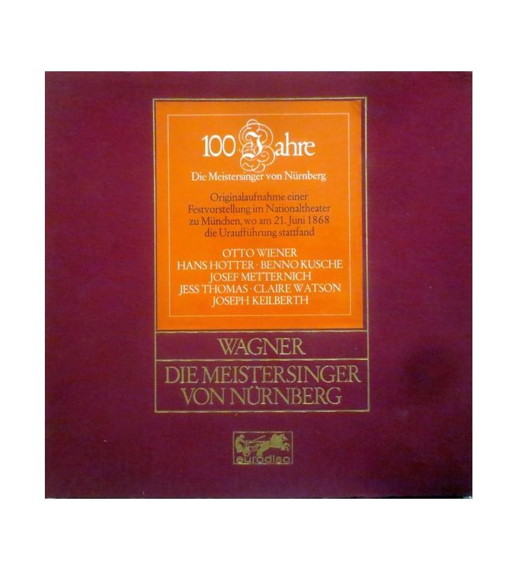 Richard Wagner, Bayerisches Staatsorchester, Chor Der Bayerischen Staatsoper, Joseph Keilberth, Hans Hotter, Otto Wiener, Jess