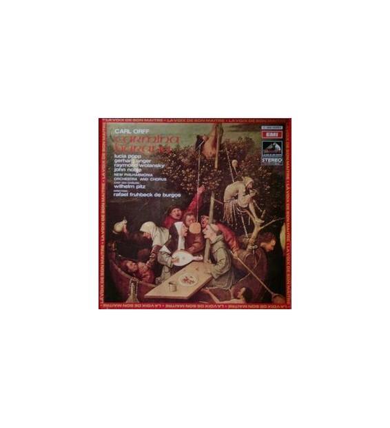 Vinyle - Carl Orff - Wilhelm Pitz, Philharmonia Orchestra, Lucia Popp, Gerhard Unger, Raymond Wolansky, John Noble - Carmina Bur