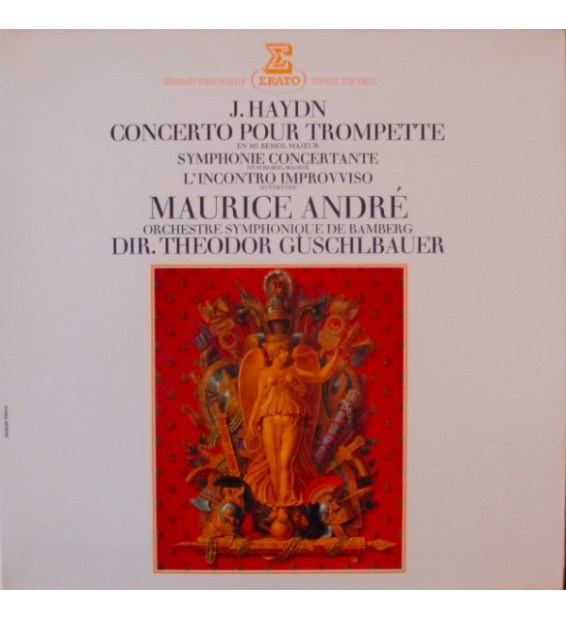 Vinyle - Joseph Haydn / Maurice Andre / Bamberger Symphoniker / Theodor Guschlbauer - Concerto Pour Trompette