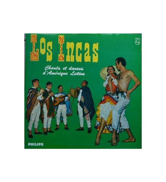 Los Incas - Chants Et Danses D'Amérique Latine (LP) mesvinyles.fr