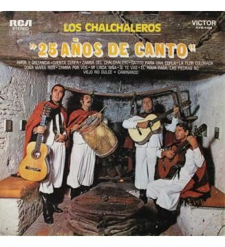 Los Chalchaleros - 25 Años De Canto (LP, Album) mesvinyles.fr