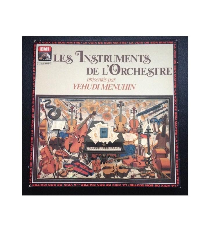 Yehudi Menuhin - Les Instruments De L'Orchestre (LP, Album, Gat) mesvinyles.fr