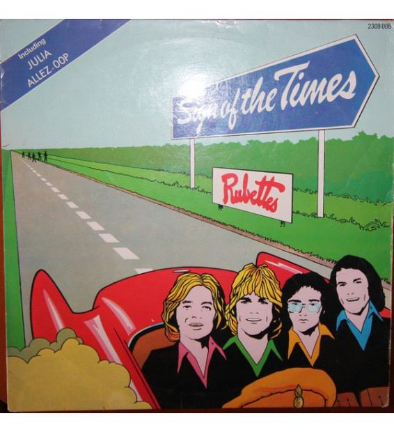 The Rubettes - Sign Of The Times (LP, Album) mesvinyles.fr