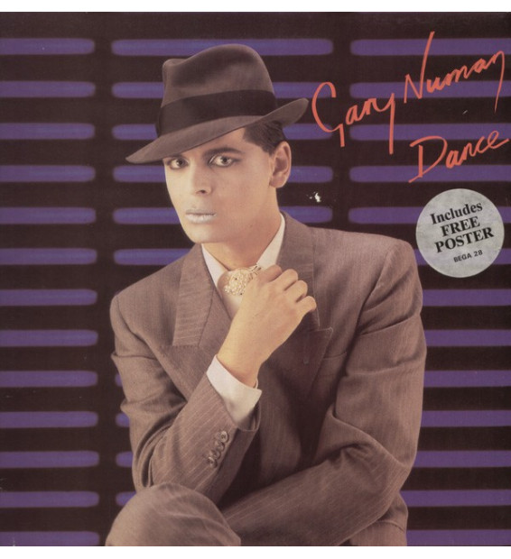 Gary Numan - Dance (LP, Album, Gat)