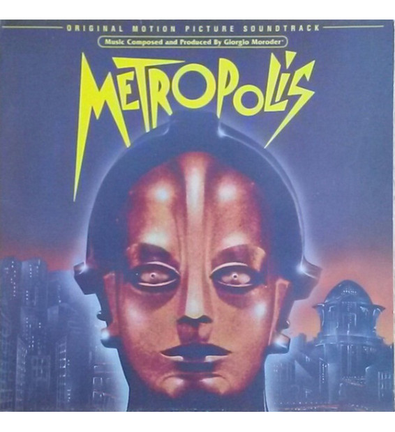 Various - Metropolis (Original Motion Picture Soundtrack) (LP, Album) mesvinyles.fr