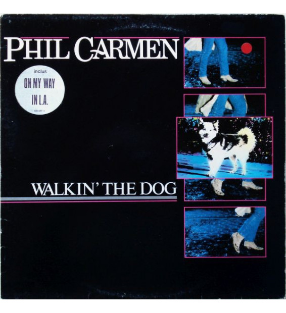 Phil Carmen - Walkin' The Dog (LP, Album)