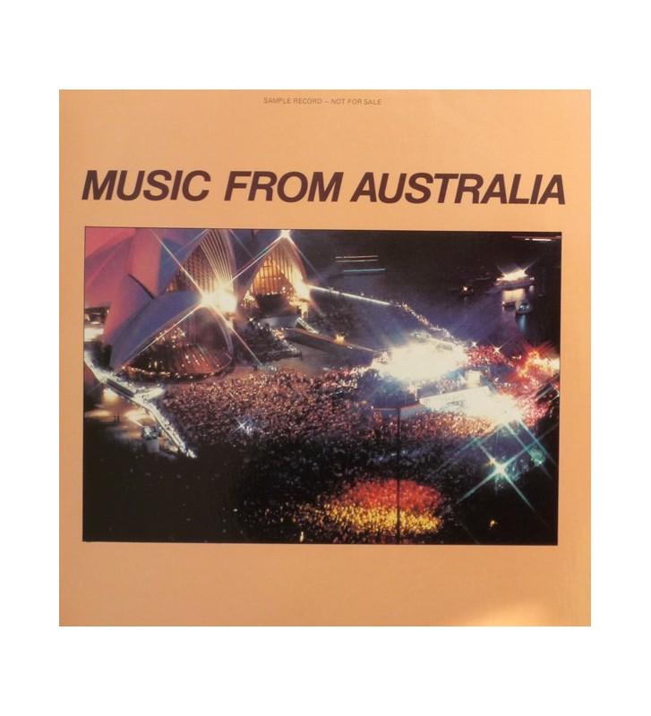 Various - Music From Australia (LP, Comp, Promo) mesvinyles.fr