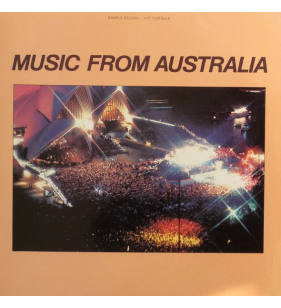 Various - Music From Australia (LP, Comp, Promo) mesvinyles.fr