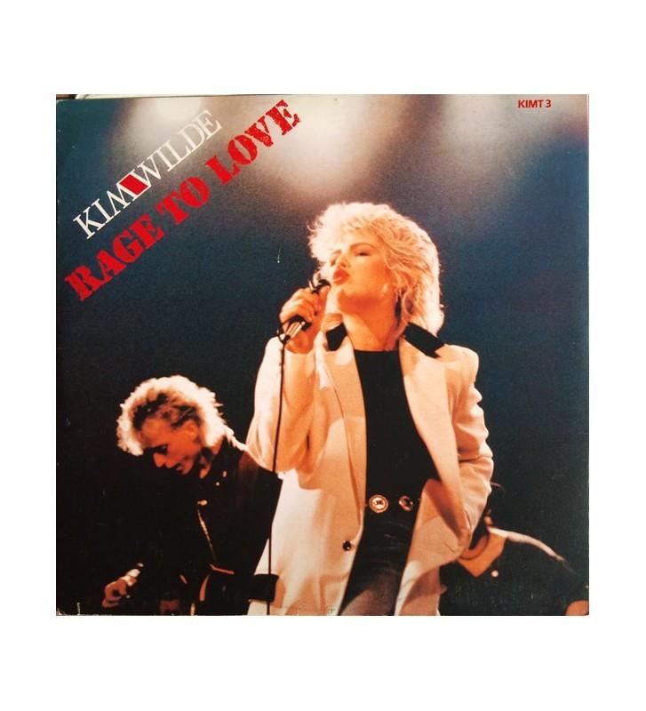 "Kim Wilde - Rage To Love (12"", Single) mesvinyles.fr"