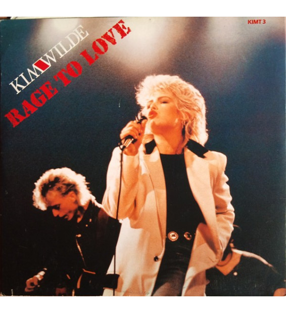 "Kim Wilde - Rage To Love (12"", Single) mesvinyles.fr"