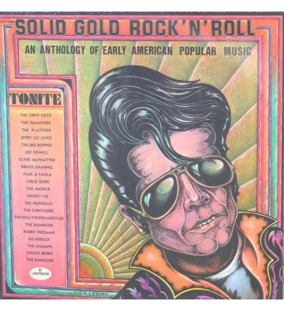Various - Solid Gold Rock 'N' Roll - An Anthology Of Early American Popular Music (2xLP, Comp)