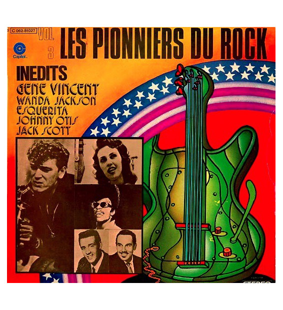 Various - Les Pionniers Du Rock Vol. 3 (LP, Comp)