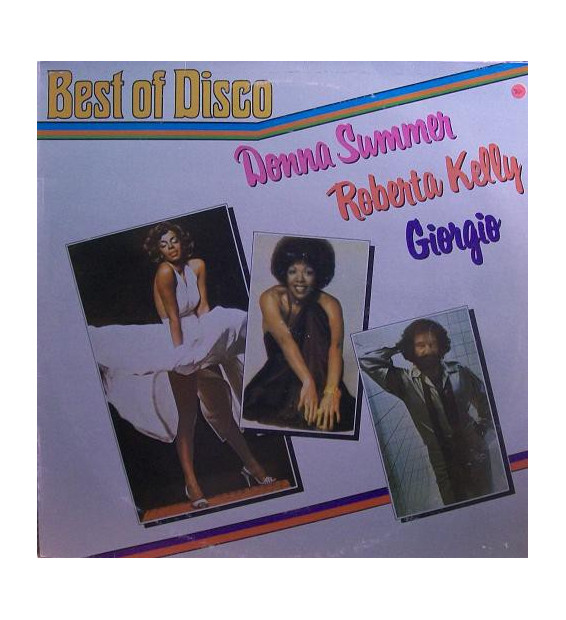 Donna Summer / Roberta Kelly / Giorgio* - Best Of Disco (LP, Album, Comp, Mixed) mesvinyles.fr