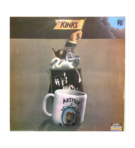The Kinks - Arthur Or The Decline And Fall Of The British Empire (LP, Album) mesvinyles.fr