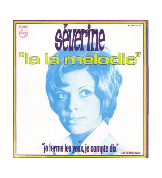 "Séverine - La La Mélodie (7"", Single) mesvinyles.fr"