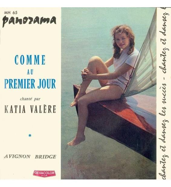 """Katia Valère - Comme Au Premier Jour (7"""", Single) mesvinyles.fr"""