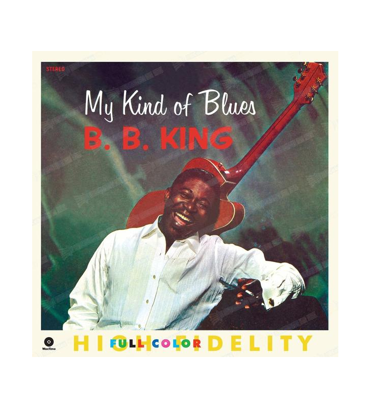 B.B. KING - my kind of blues mesvinyles.fr