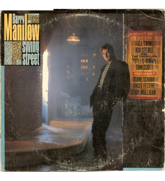 Vinyle - Barry Manilow - Swing Street