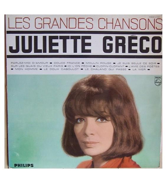 Juliette Gréco - Les Grandes Chansons (LP, Comp, Mono)