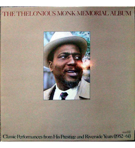 Thelonious Monk - The Thelonious Monk Memorial Album (2xLP, Comp, Gat)