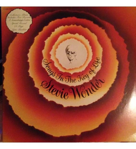 """Stevie Wonder - Songs In The Key Of Life (2xLP, Album, Gat + 7"""", EP)"""