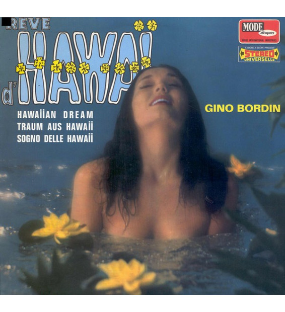 Gino Bordin - Rêve D'Hawaï (LP, Album)