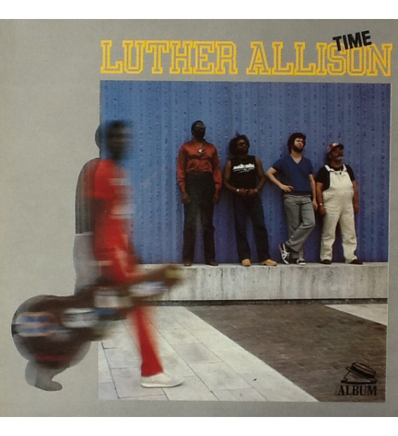 Luther Allison - Time (LP)