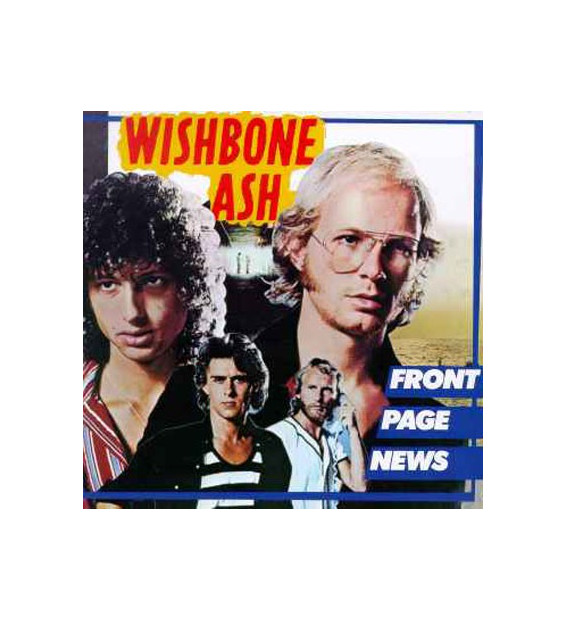 Wishbone Ash - Front Page News (LP, Album, Gat) mesvinyles.fr
