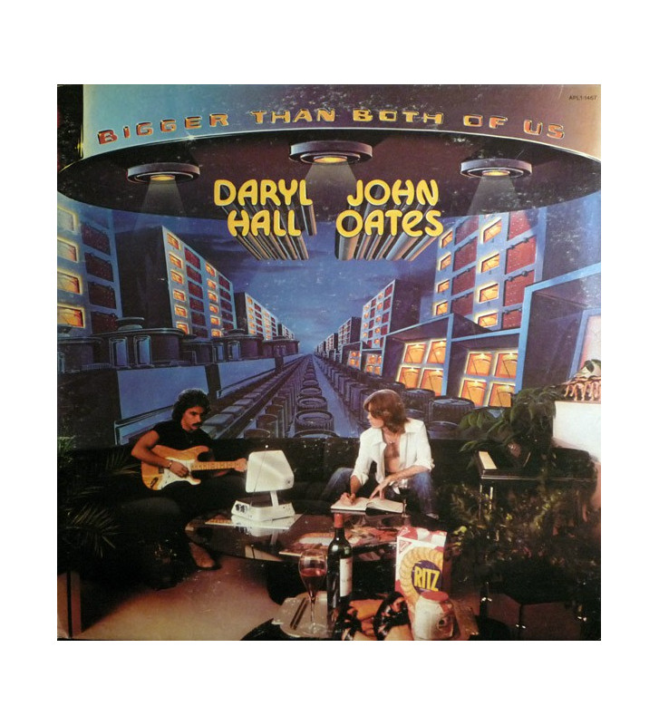 Daryl Hall & John Oates - Bigger Than Both Of Us (LP, Album, RE) mesvinyles.fr