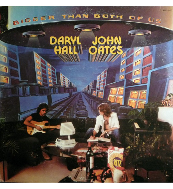 Daryl Hall & John Oates - Bigger Than Both Of Us (LP, Album, RE)