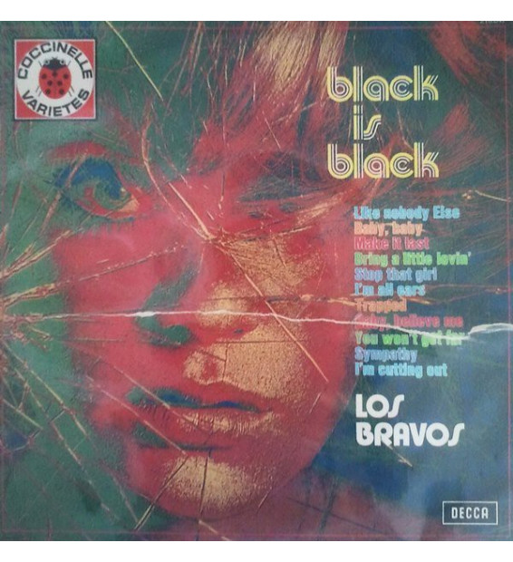 Los Bravos - Black Is Black (LP, Comp, RE)