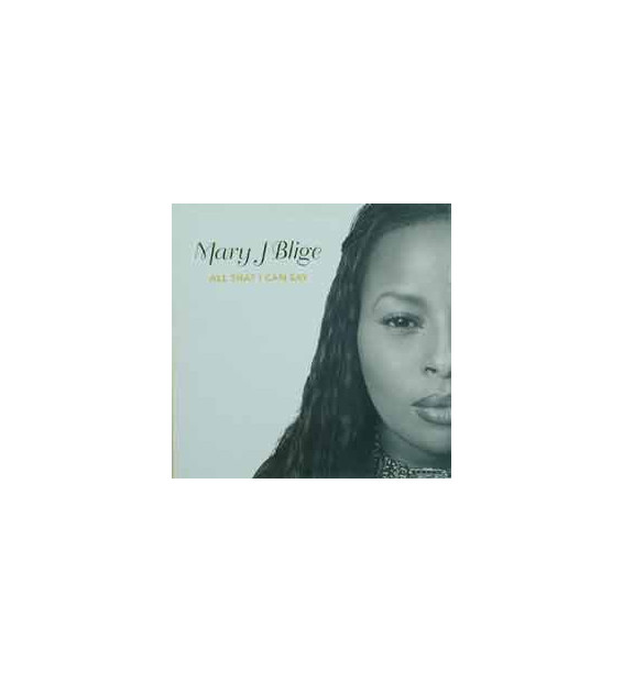 """Mary J. Blige - All That I Can Say (12"""")"""