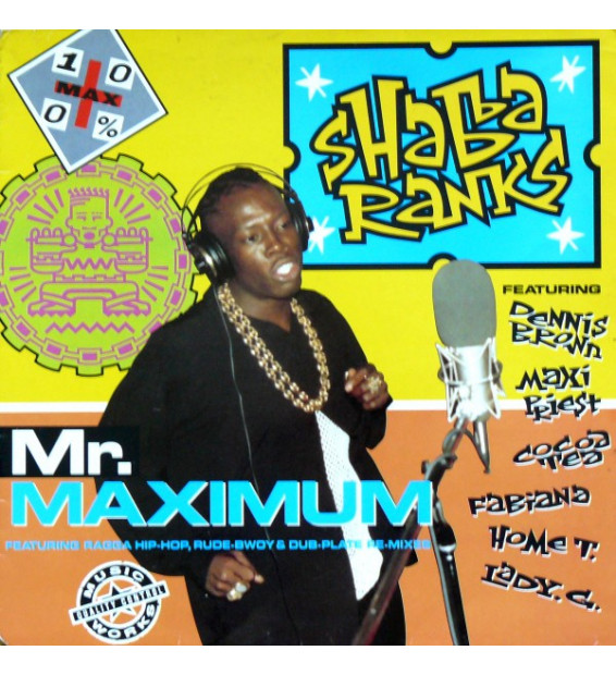 Shabba Ranks - Mr. Maximum (LP, Album) mesvinyles.fr
