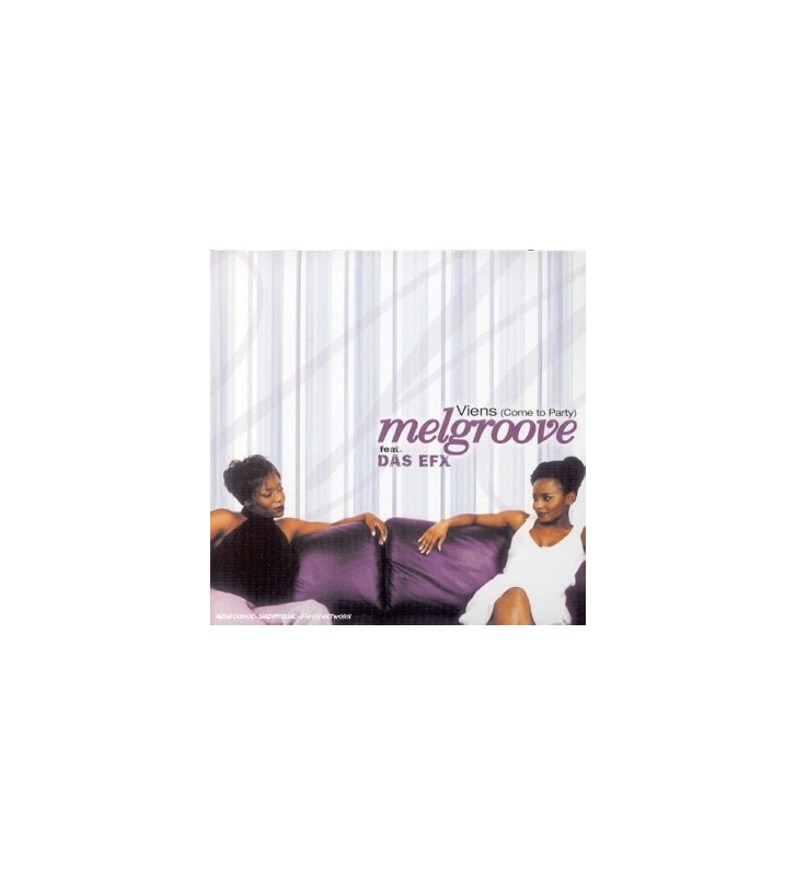 "Melgroove Feat. Das EFX - Viens (Come To Party) (12"") mesvinyles.fr"