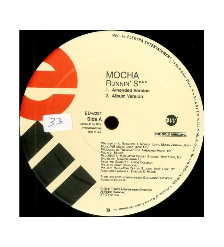 """Mocha - Runnin' S*** (12"""", Promo) mesvinyles.fr"""