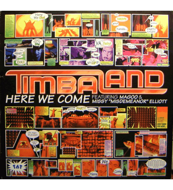 "Timbaland - Here We Come (12"") mesvinyles.fr"