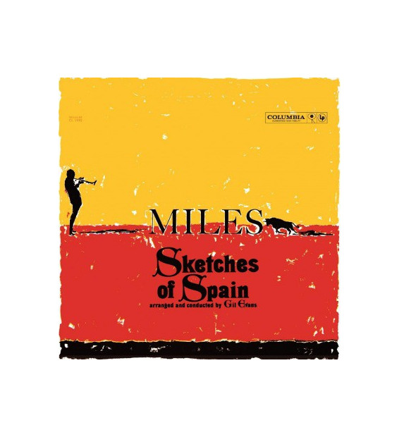 Miles* - Sketches Of Spain (LP, Album, Mono, RE, RM, 180)