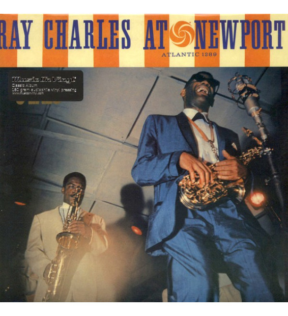 Ray Charles - Ray Charles At Newport (LP, Album, RE, 180)