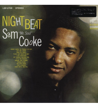 Sam Cooke - Night Beat (LP, Album, RE, 180) mesvinyles.fr