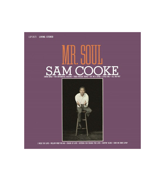 Sam Cooke - Mr. Soul (LP, Album, RE, RM, 180)