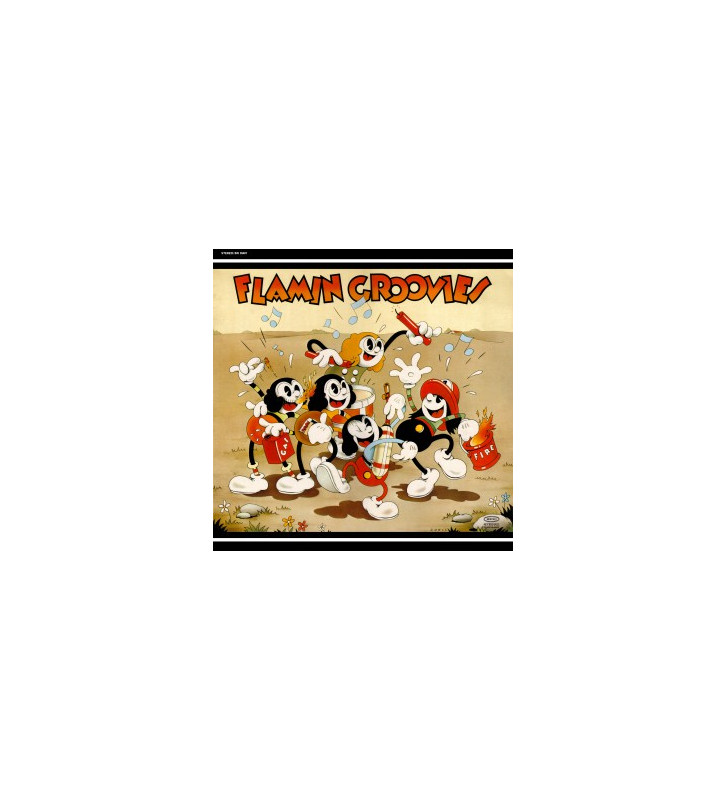 The Flamin' Groovies - Supersnazz (LP, Album, RE) mesvinyles.fr