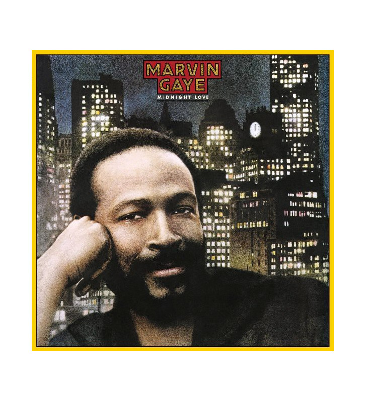 Marvin Gaye - Midnight Love (LP, Album, RE, 180) mesvinyles.fr