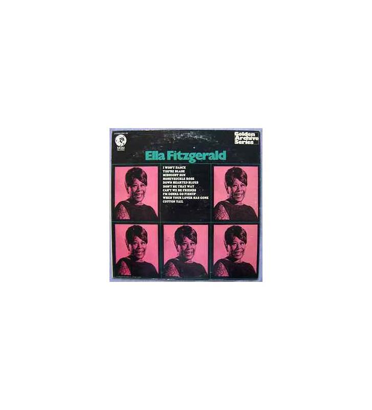 Ella Fitzgerald - Ella Fitzgerald (LP, Comp) mesvinyles.fr