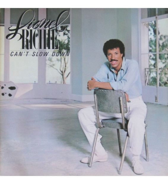 Lionel Richie - Can't Slow Down (LP, Album, Gat) mesvinyles.fr