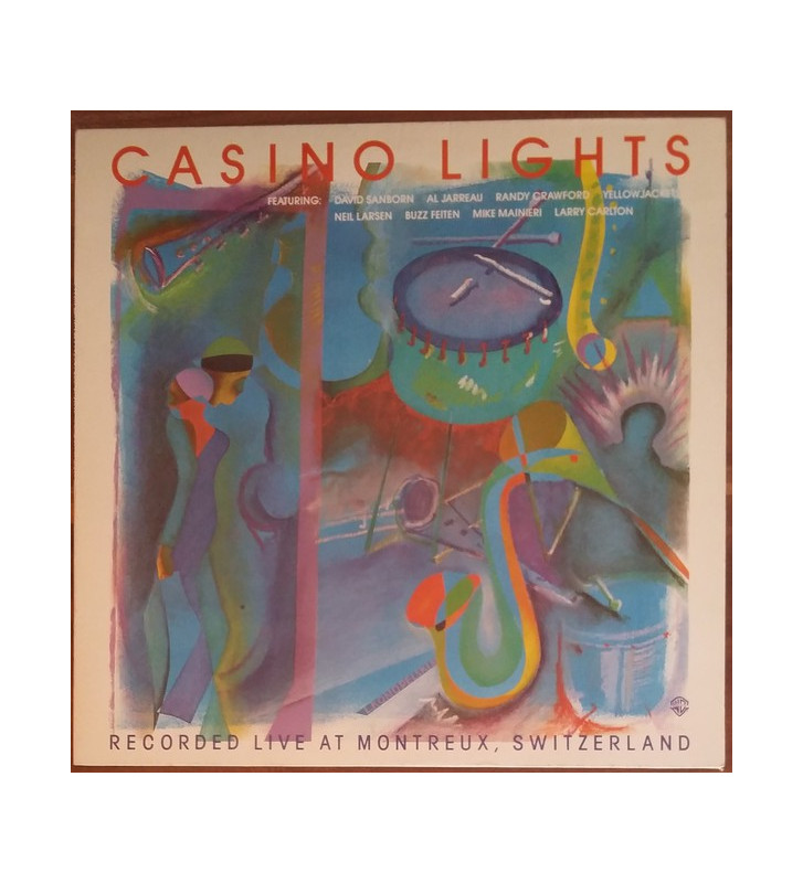 Various - Casino Lights - Recorded Live At Montreux, Switzerland  (LP, Comp) mesvinyles.fr
