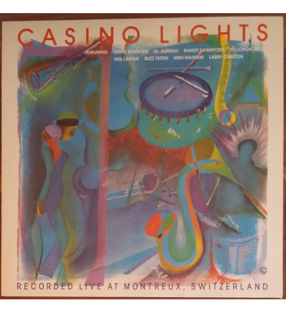 Various - Casino Lights - Recorded Live At Montreux, Switzerland (LP, Comp) mesvinyles.fr