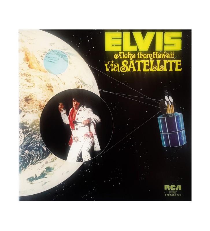Elvis* - Aloha From Hawaii Via Satellite (2xLP, Album, Gat) mesvinyles.fr